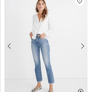 NWT Madewell Perfect Vintage Jeans in Ainsworth